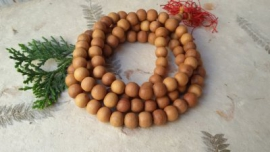 108 Bead Sandalwood Mala 10mm