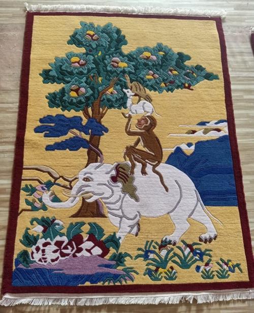 4 Friends Tibetan Carpet