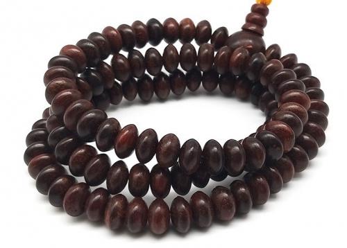 108 Bead Sandal wood Mala