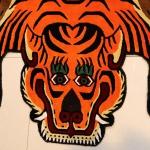 Tibetan Tiger Rug details