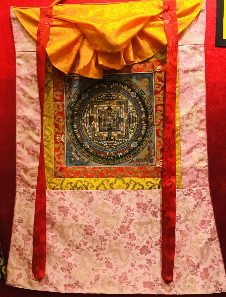 Silk Framed Kalachakra Mandala