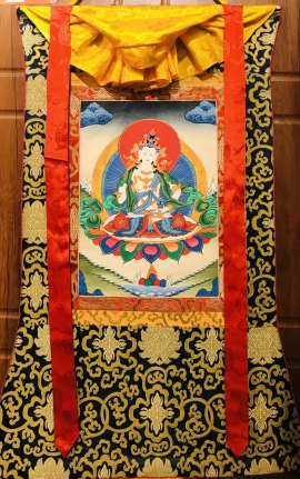 Silk Framed Thangka