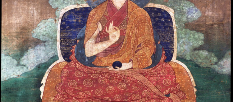 Lama Teacher - Shamarpa