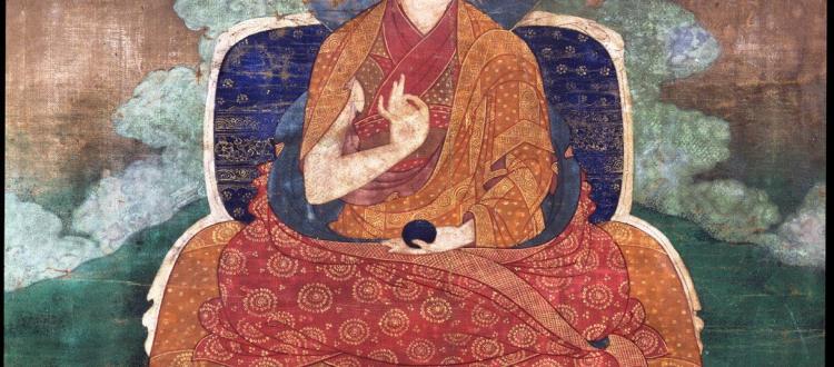 Lama Teacher - Shamarpa
