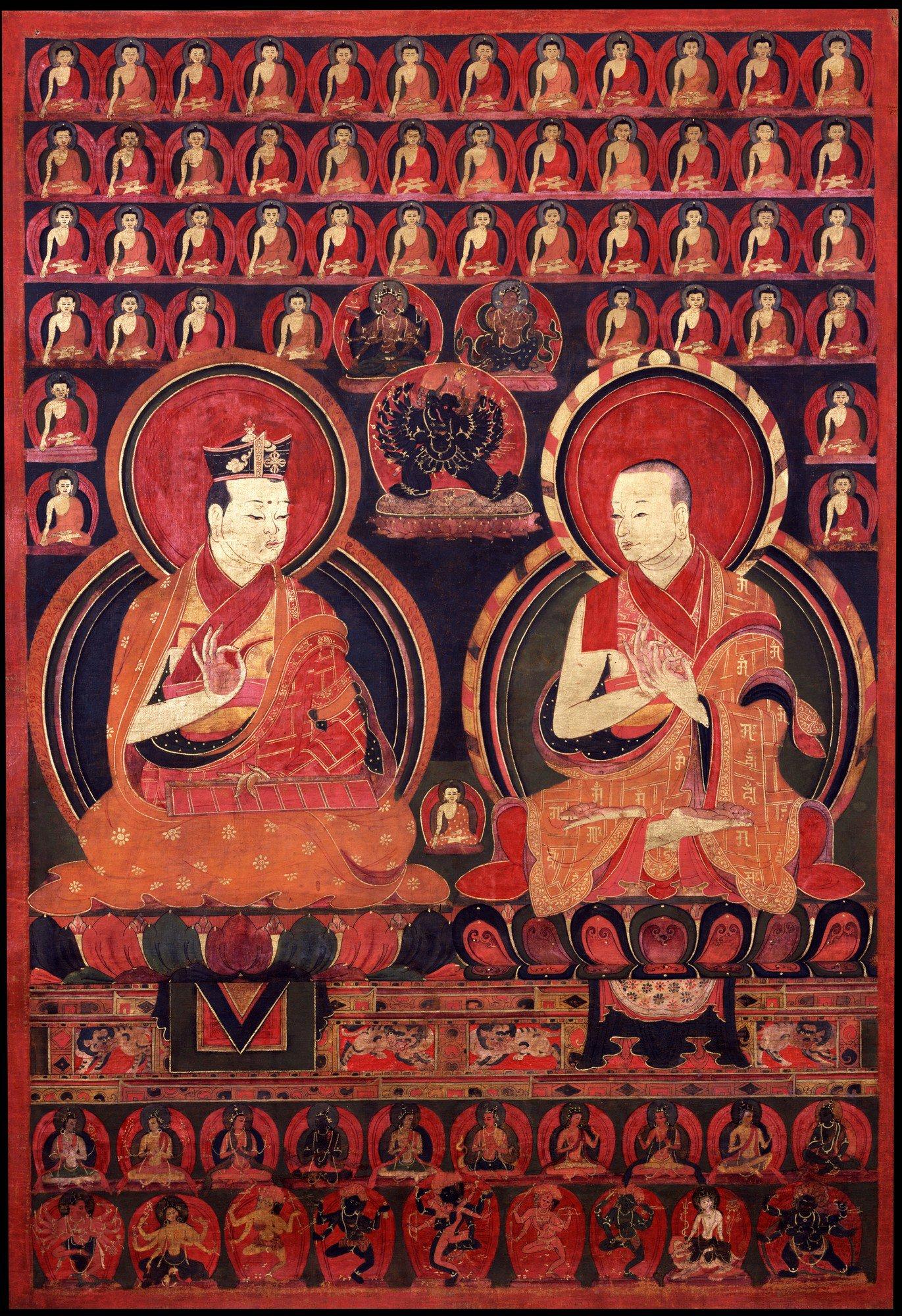 Tibetan Buddhist Eighth Karmapa Mikyo Dorje