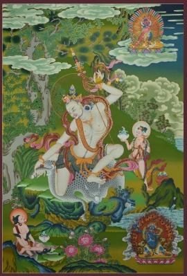 Naropa Thangka Painting