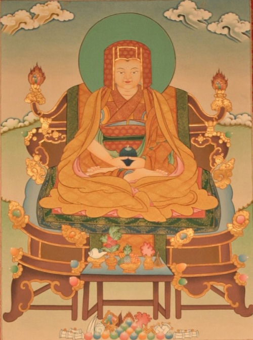 Gampopa Thangka Painting