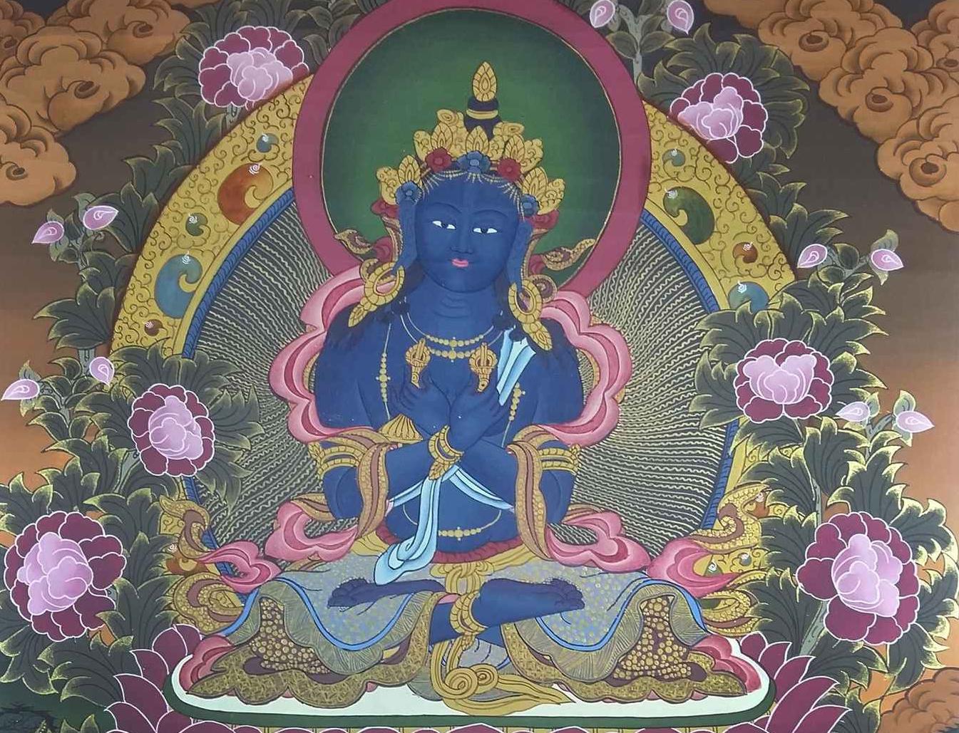 Vajradhara Thangka
