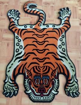Small Tibetan Tiger Rug
