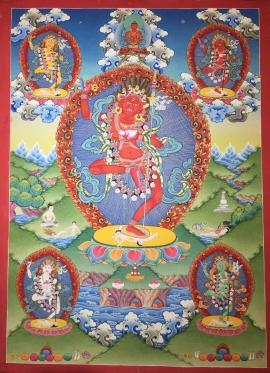 Dorje Phagmo Thangka Painting