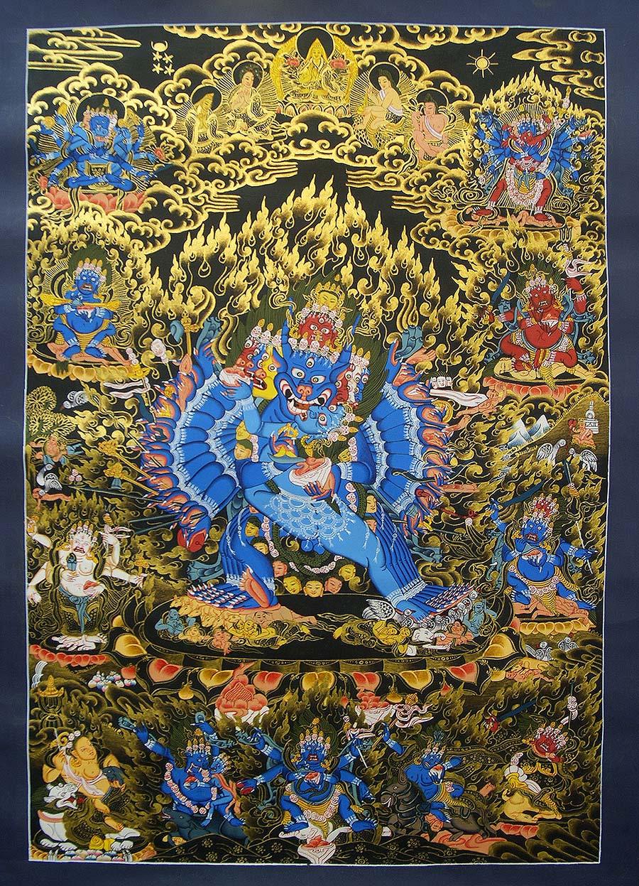 Yamantaka Ritual Art