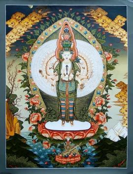 Sahasrabhuja Avalokitesvara Thangka