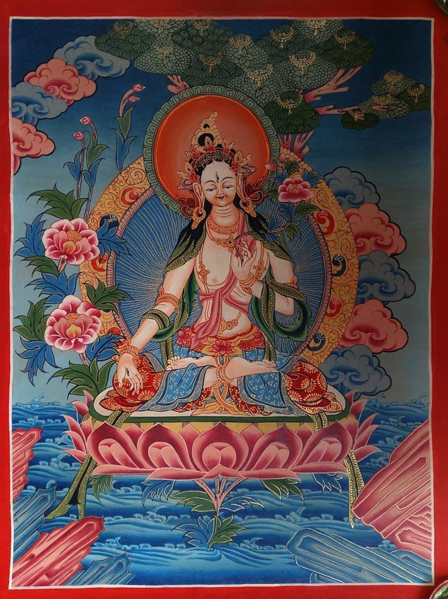 Goddess of Compassion - White Tara
