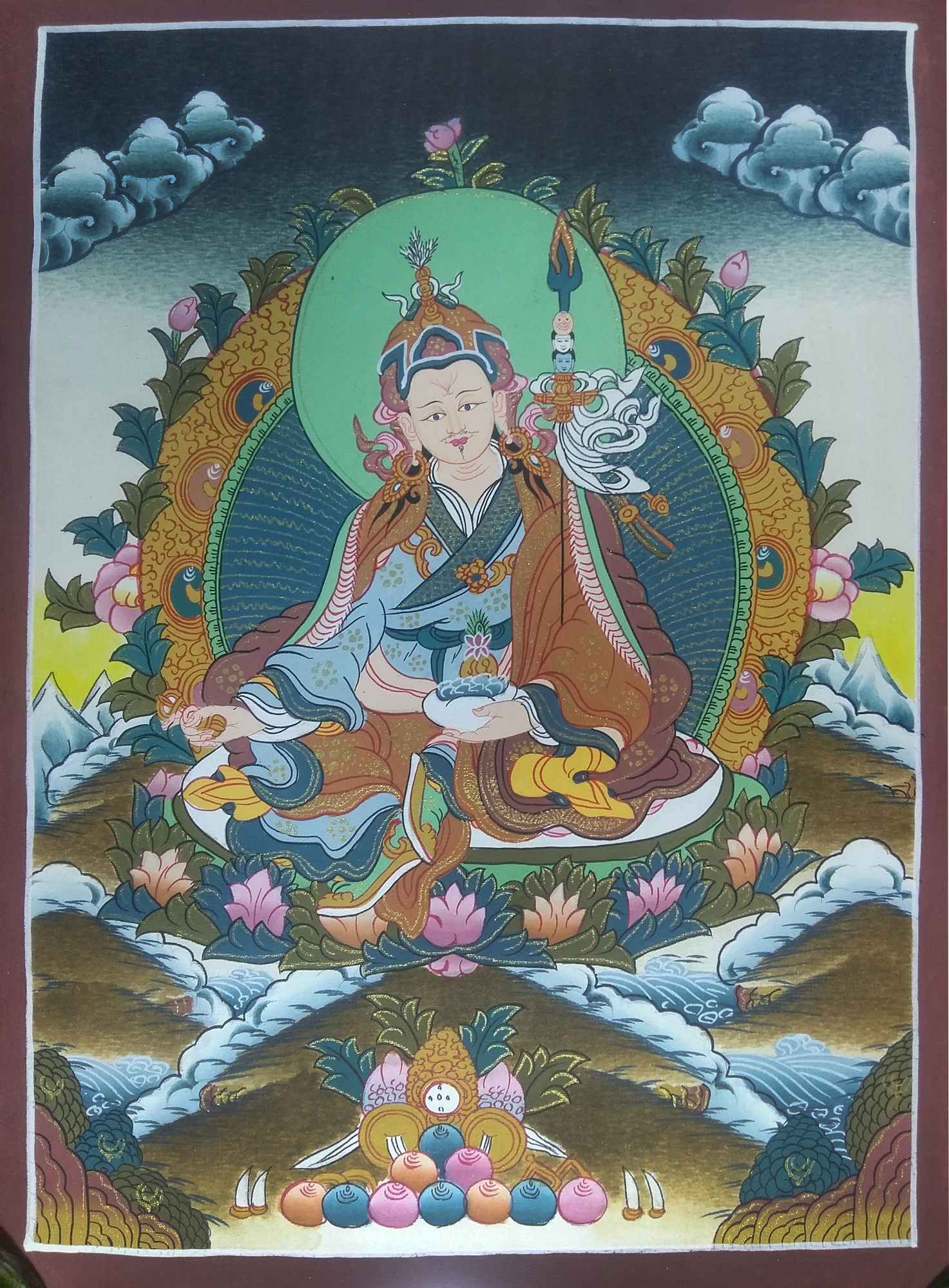 Padmasambhava Traditional Art