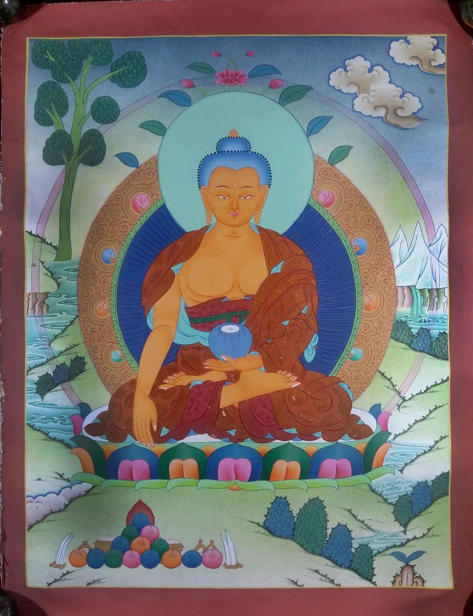 Buddhist Shakyamuni Buddha Painting