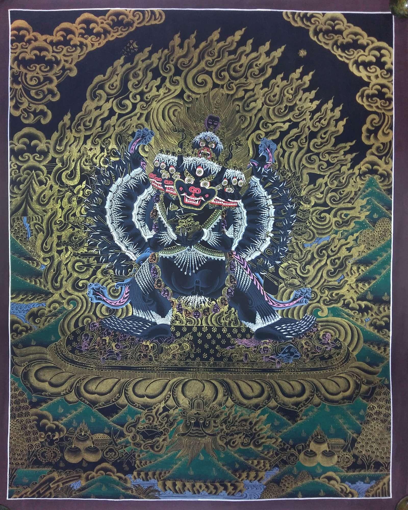 Traditional Art of Yamantaka