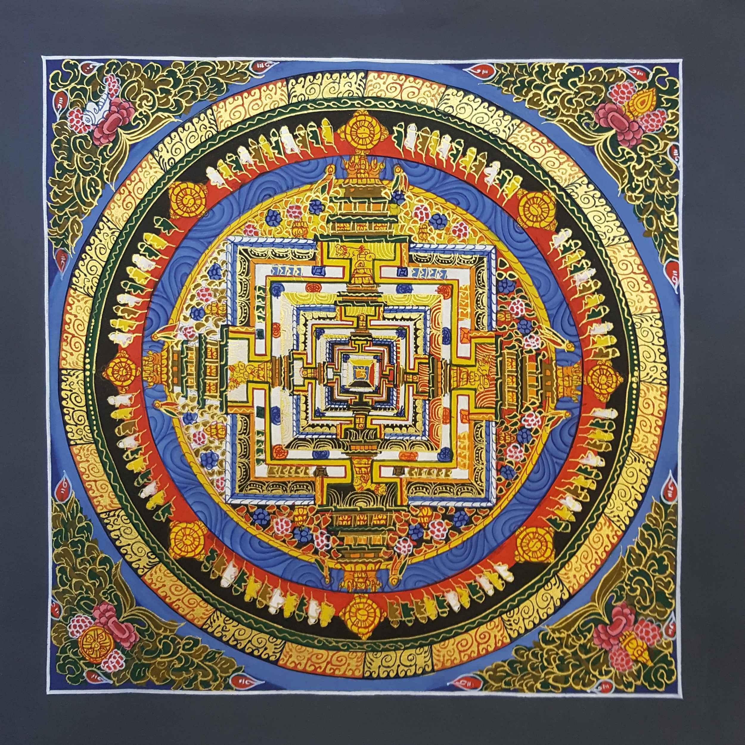Kalachakra Traditional Painting