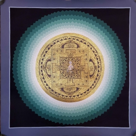 Blue Lotus White Tara Mandala