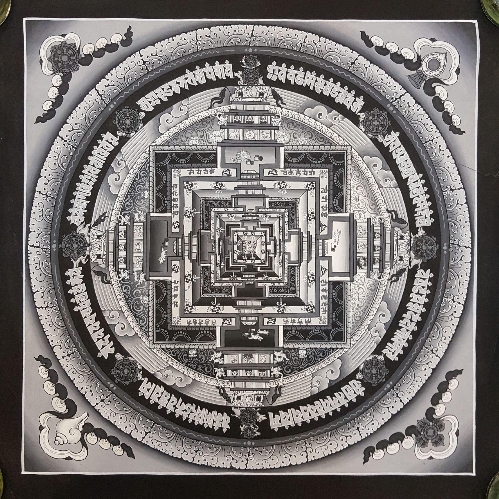 Newari Kalachakra Mandala