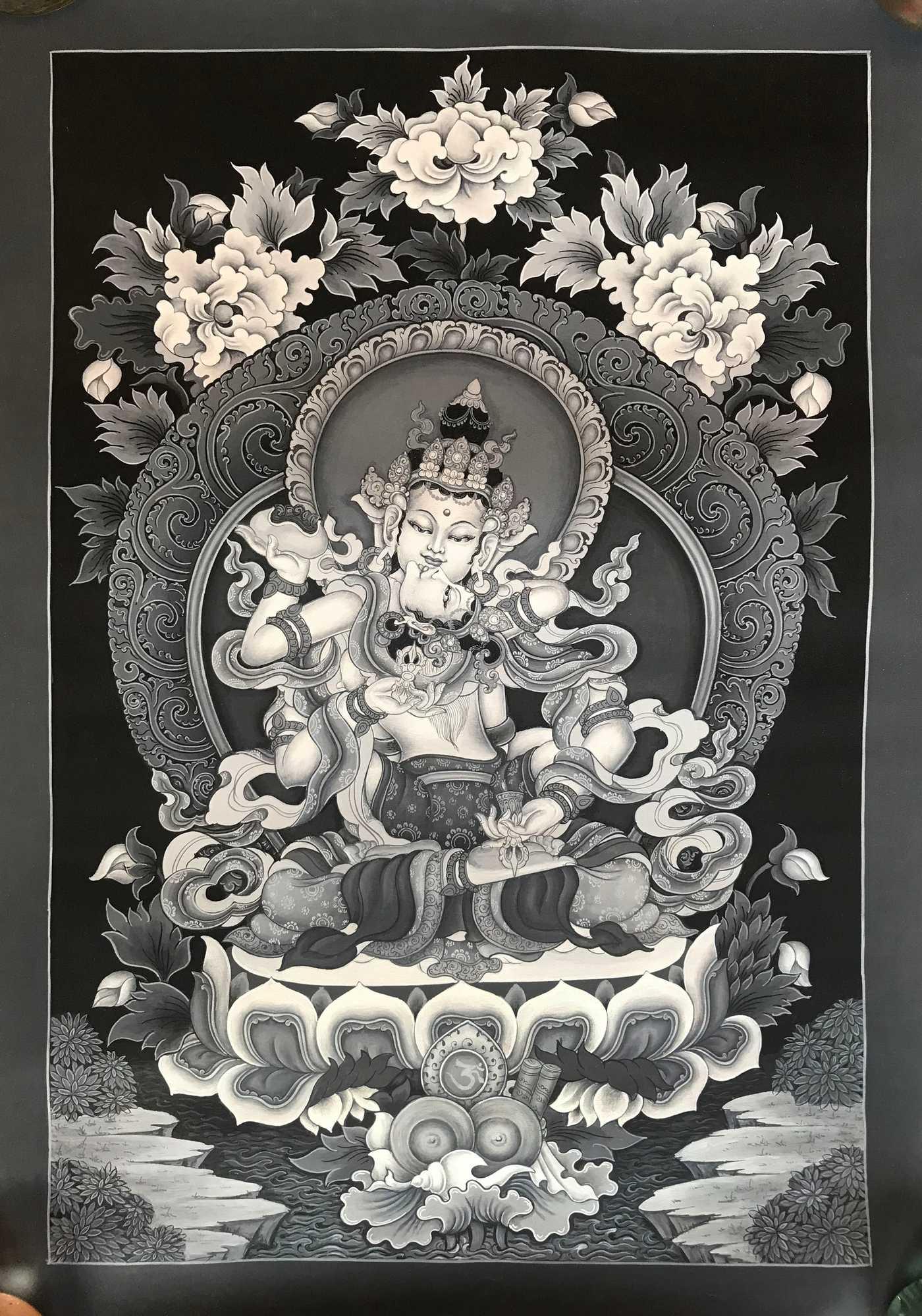 Meditation Thangka - Vajrasattva