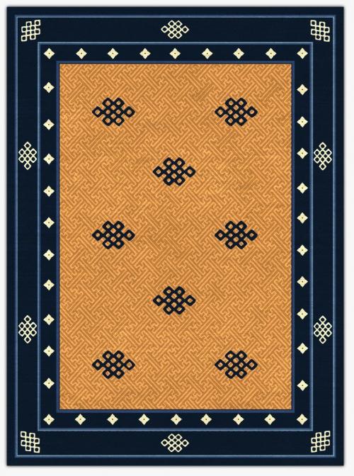 Endless knot Carpet