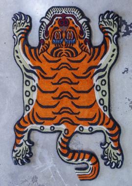 Small Tibetan Tiger Carpet