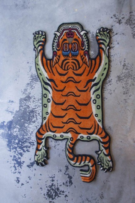 Medium Tibetan Tiger Carpet