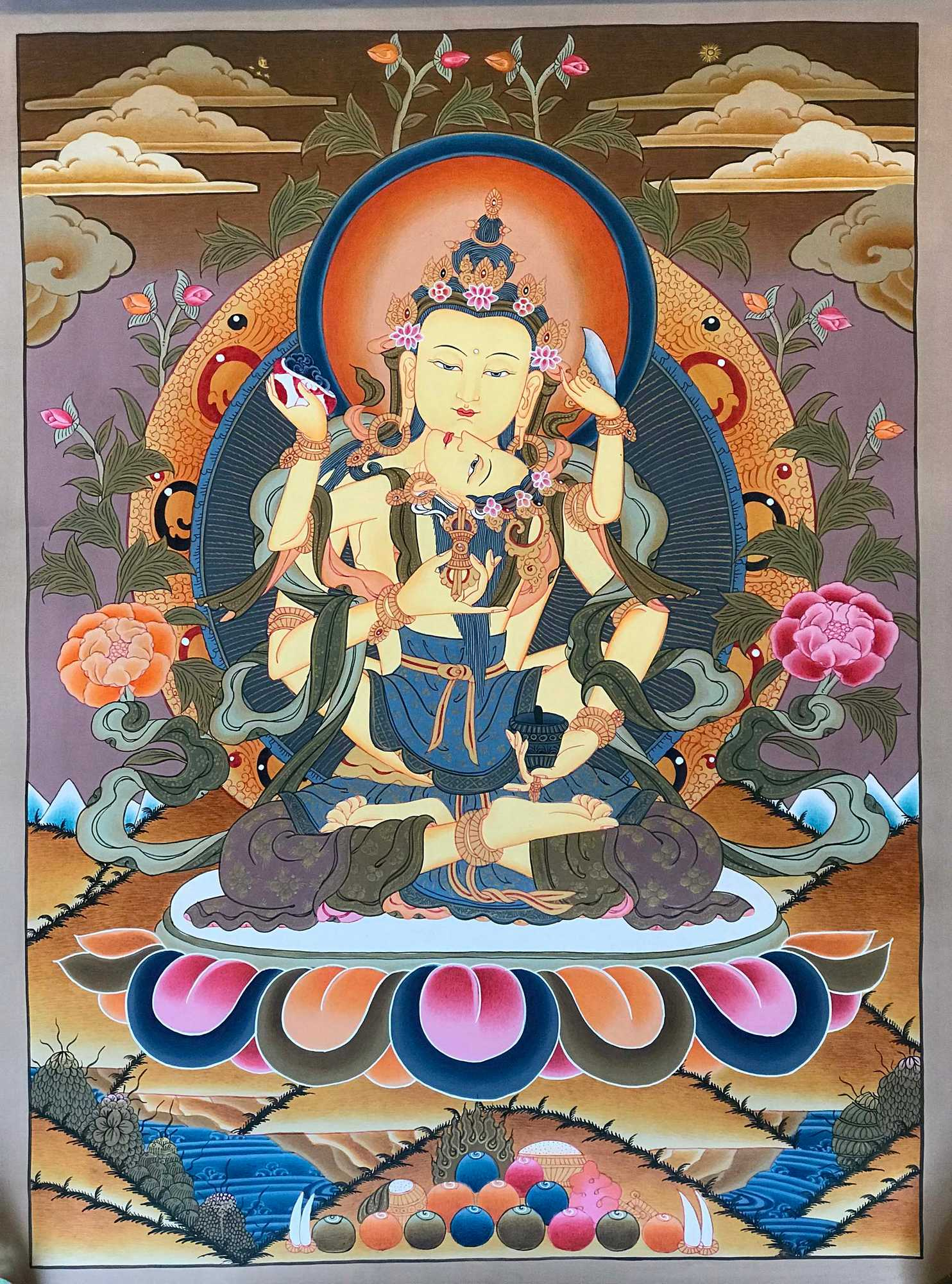 Tibetan Art of Vajrasattva
