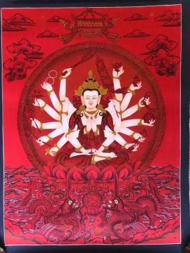 Chundi Tibetan Thangka