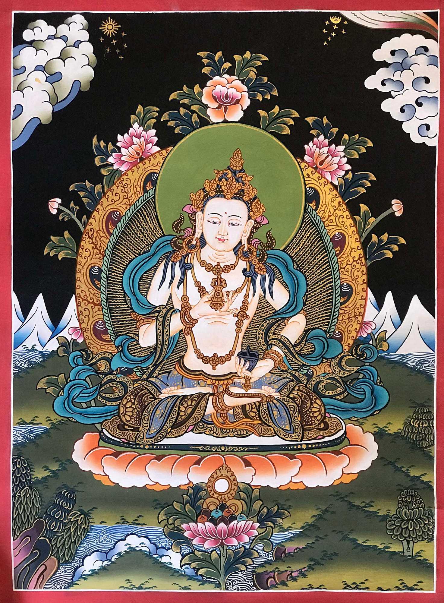 Tibetan Traditional Vajrasattva Painting