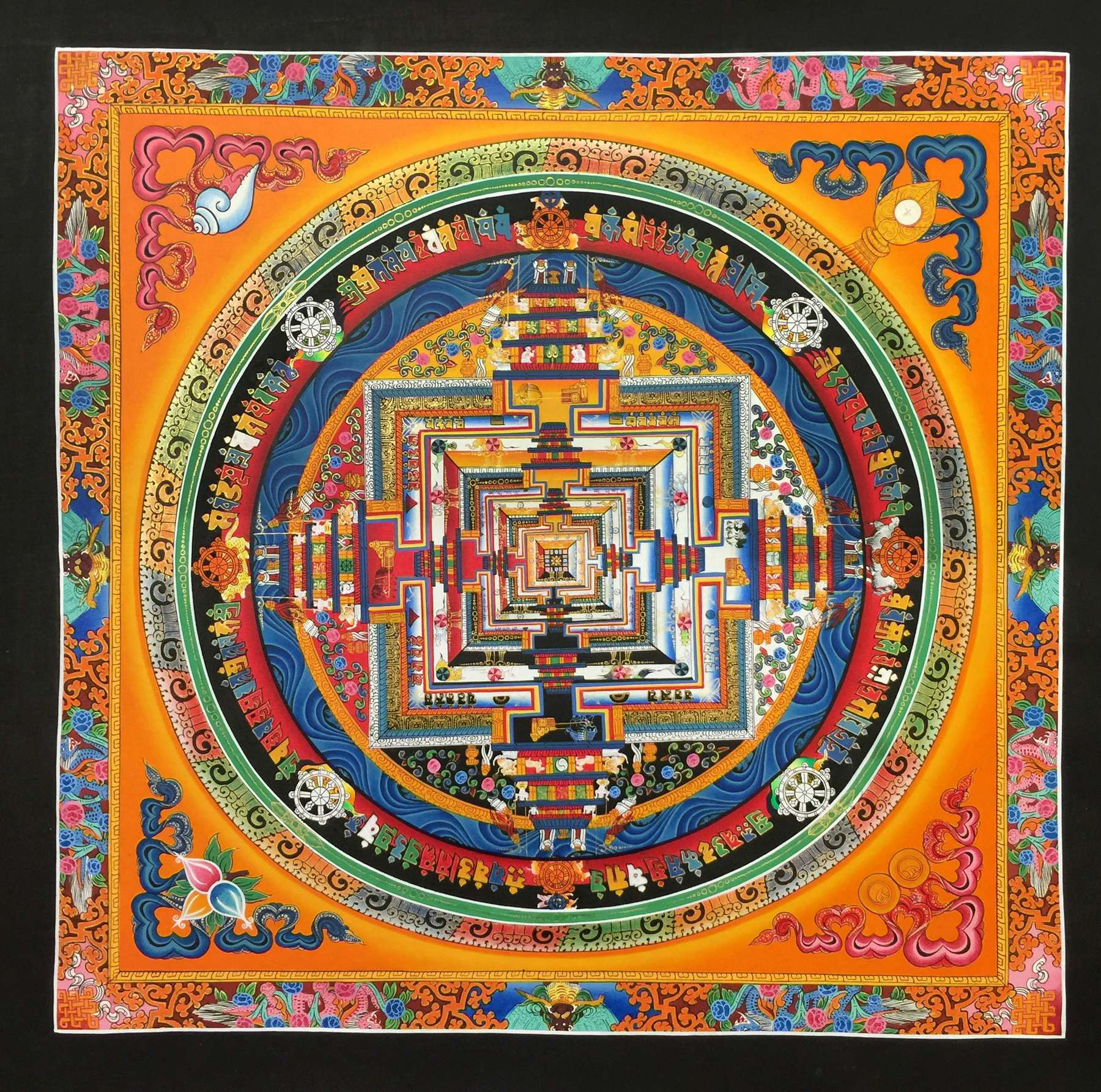 Dragon Kalachakra Painting Art