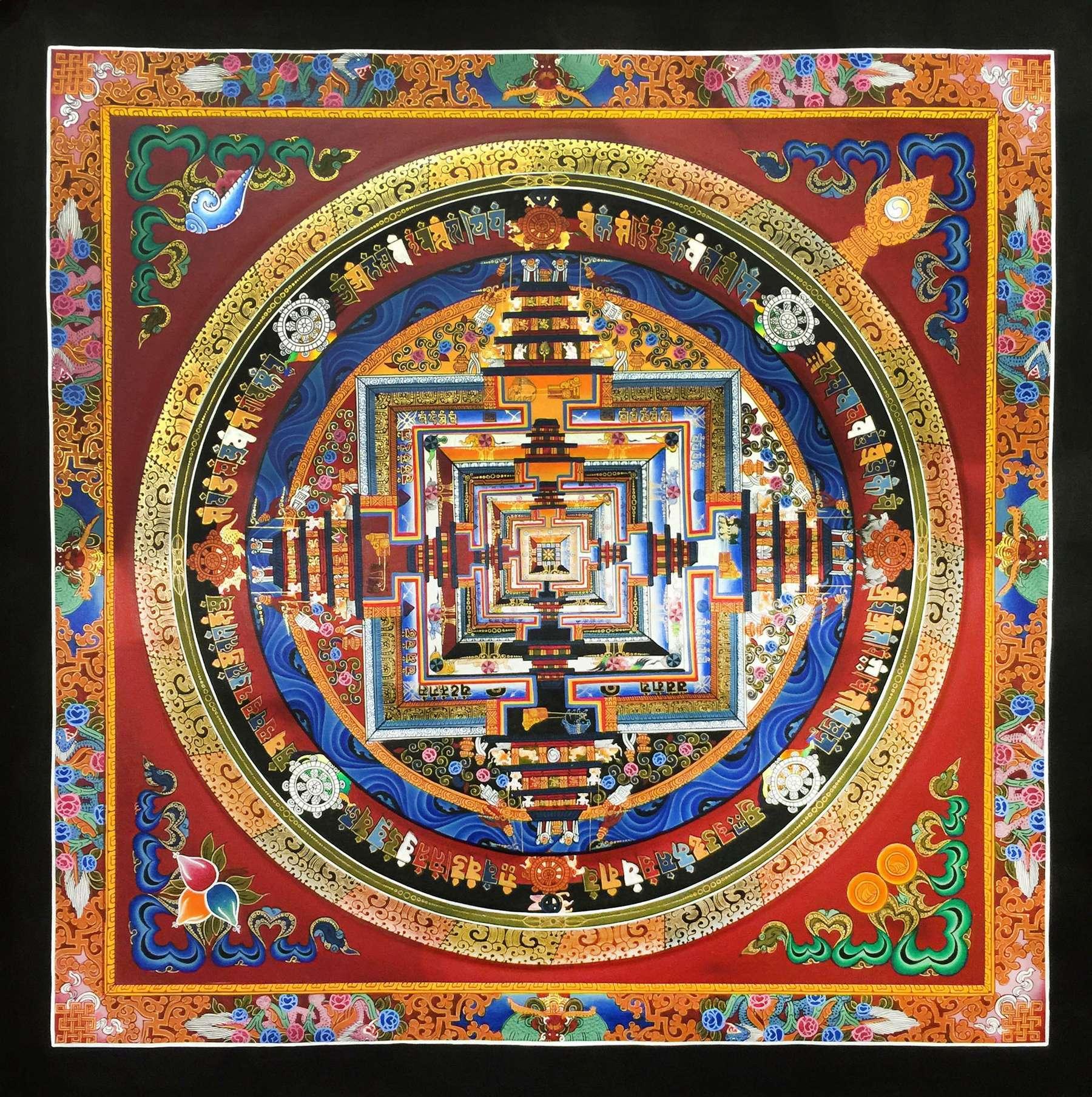 Dragon Kalachakra Painting