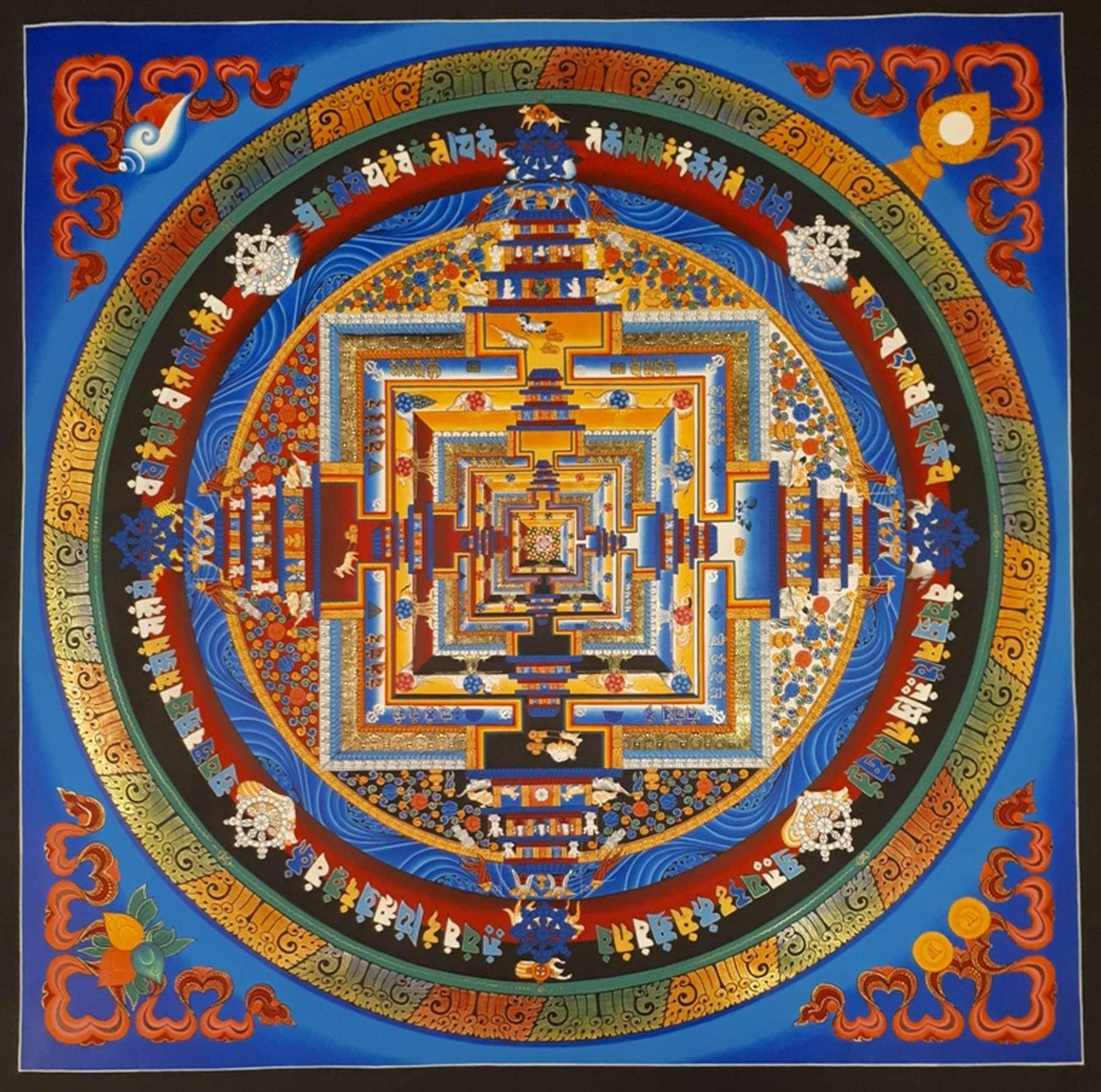 Ritual Kalachakra Art