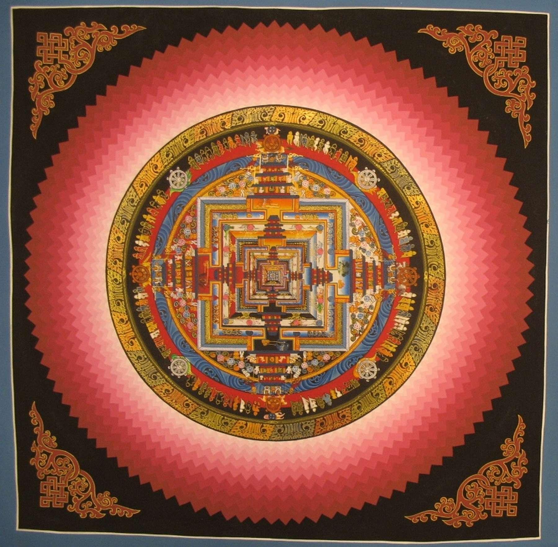 Tibetan Kalachakra Art