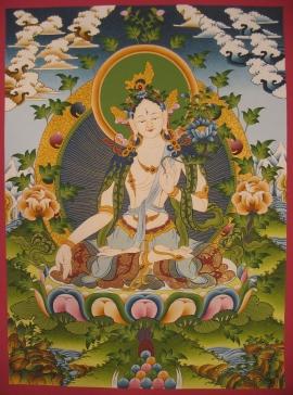 Dolma Karpo Thangka
