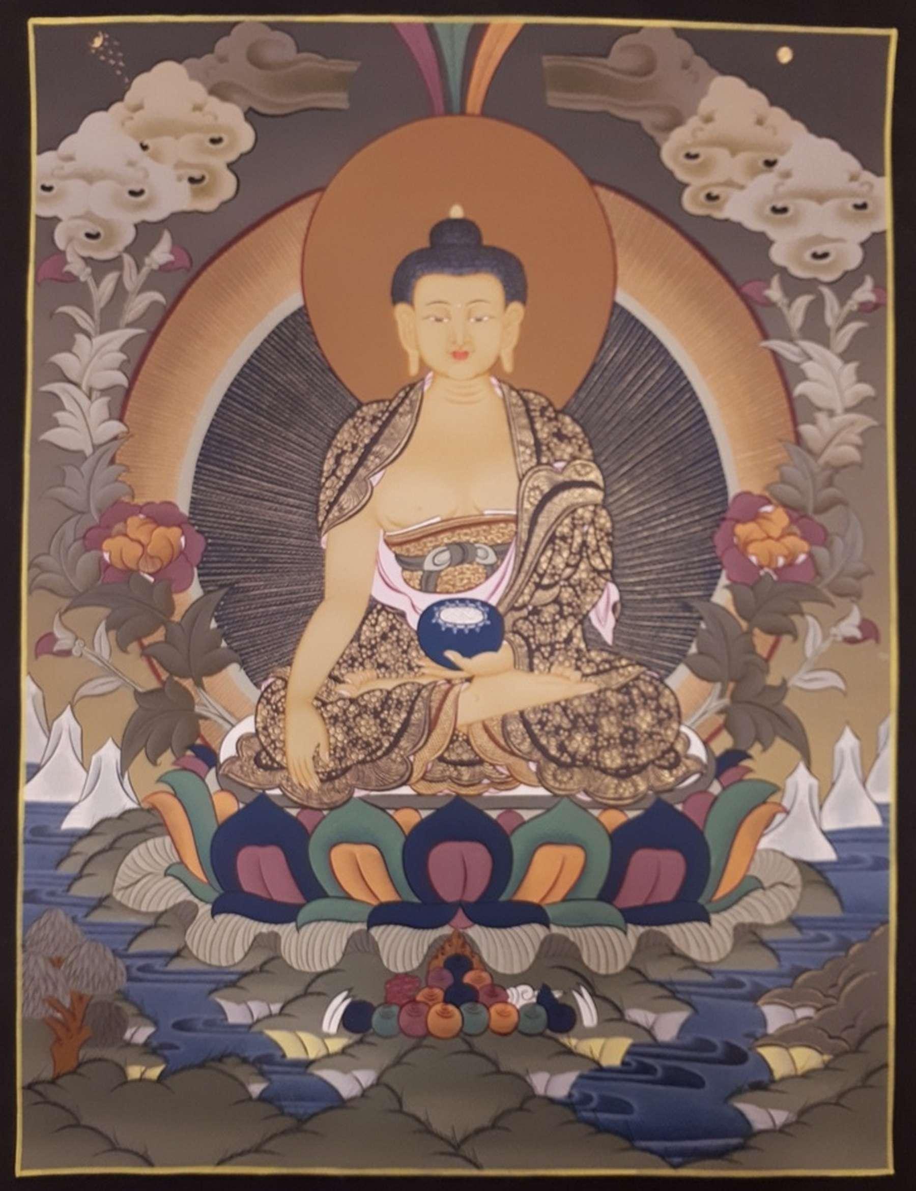 Shakyamuni Buddha From Nepal