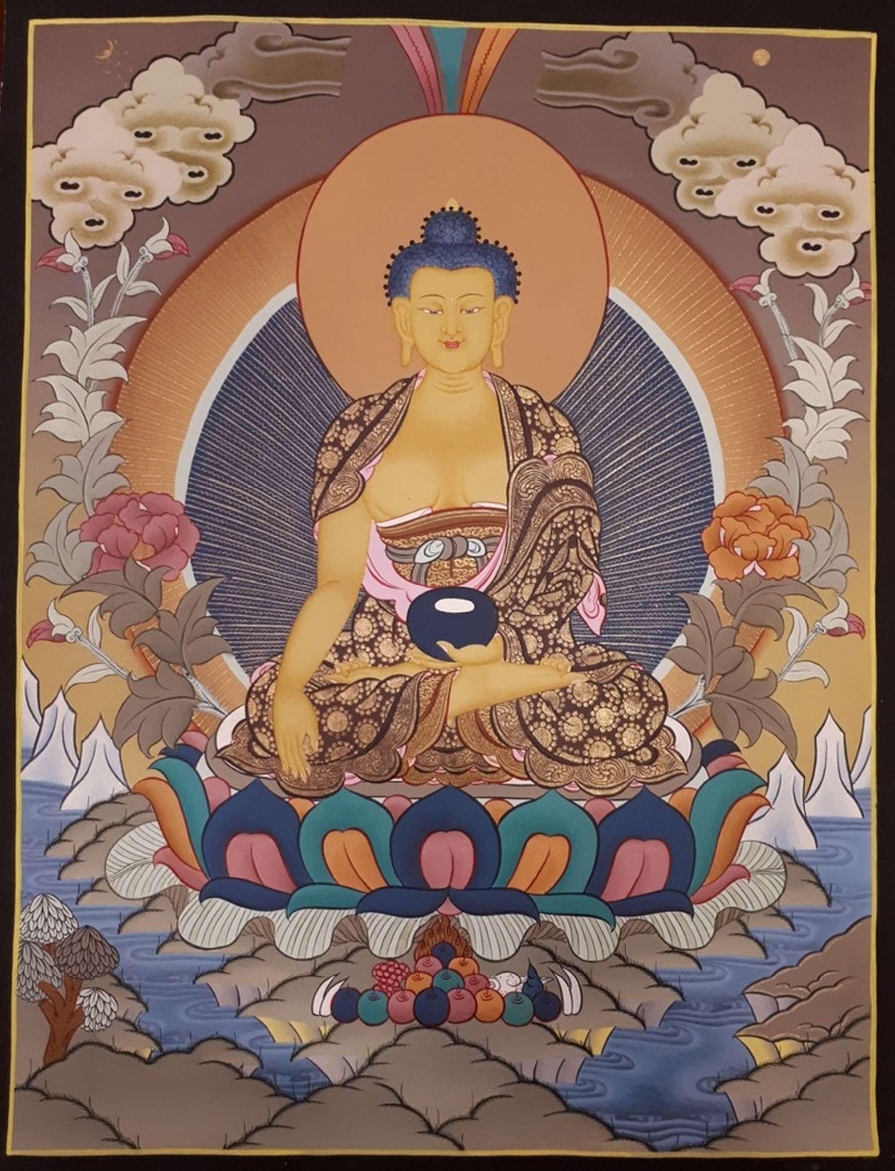 Shakyamuni Traditional Painting