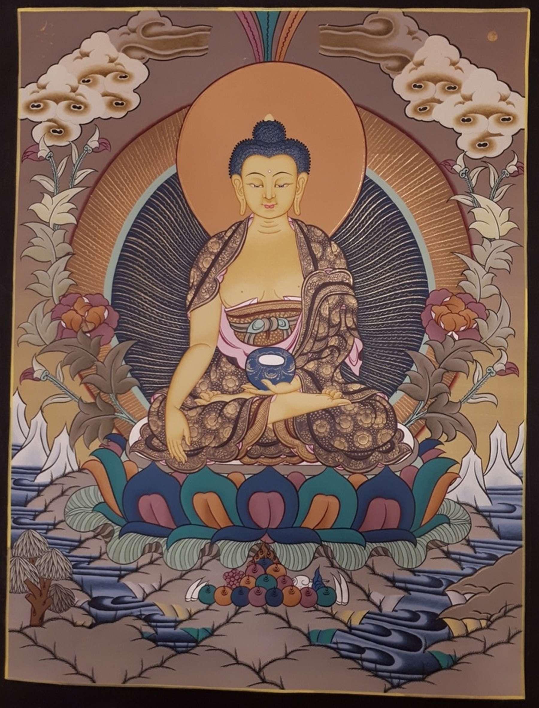 Shakyamuni Painting Art