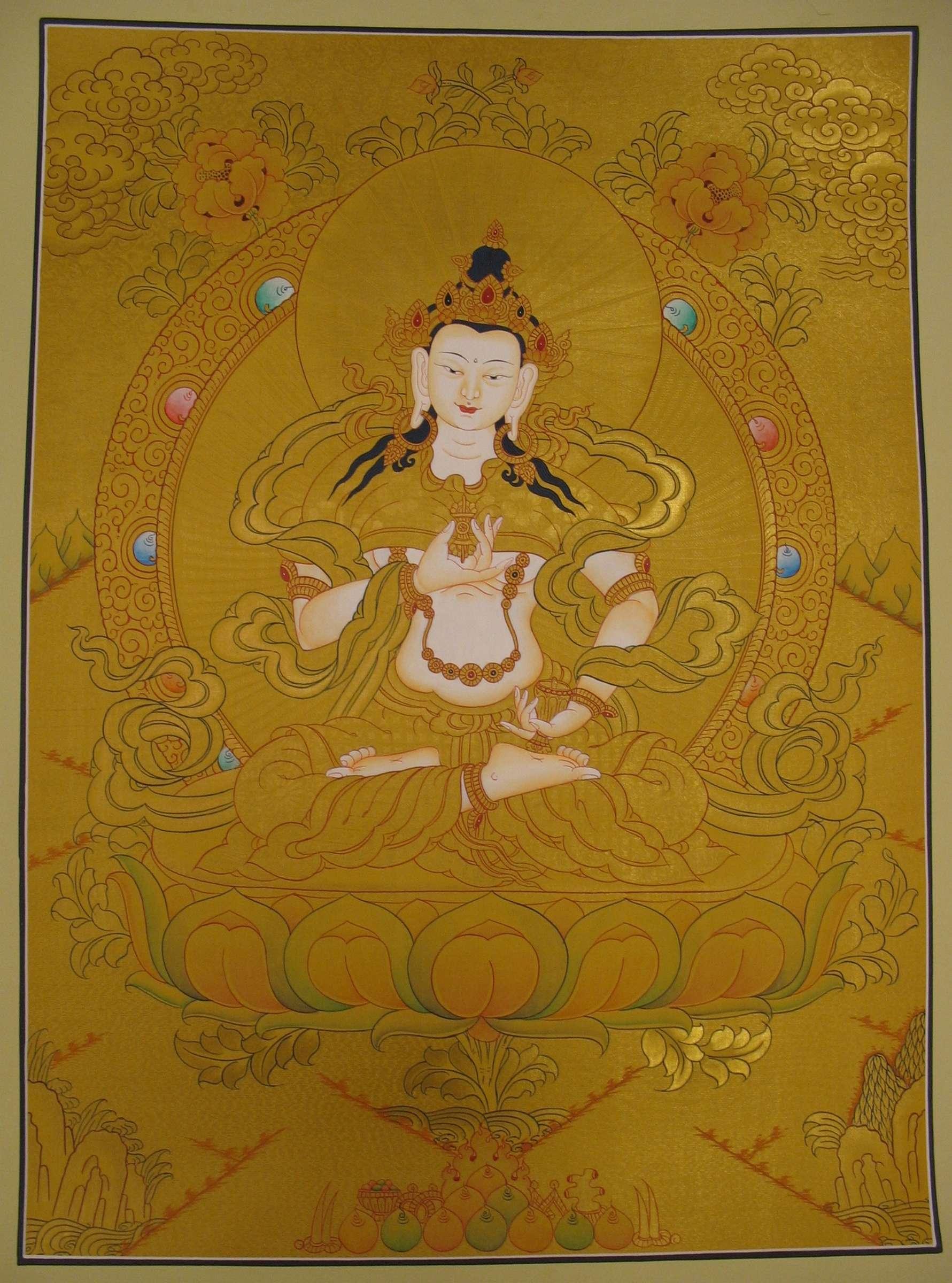 Scroll Painting of  Vajrasattva