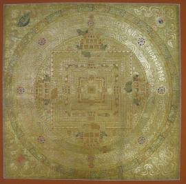 Kalachakra Tibetan Mandala