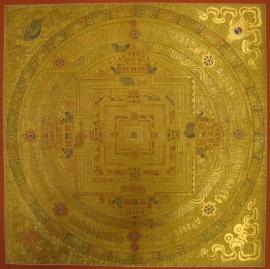 Ritual Kalachakra Mandala