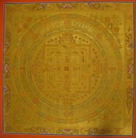 Big Kalachakra Mandala