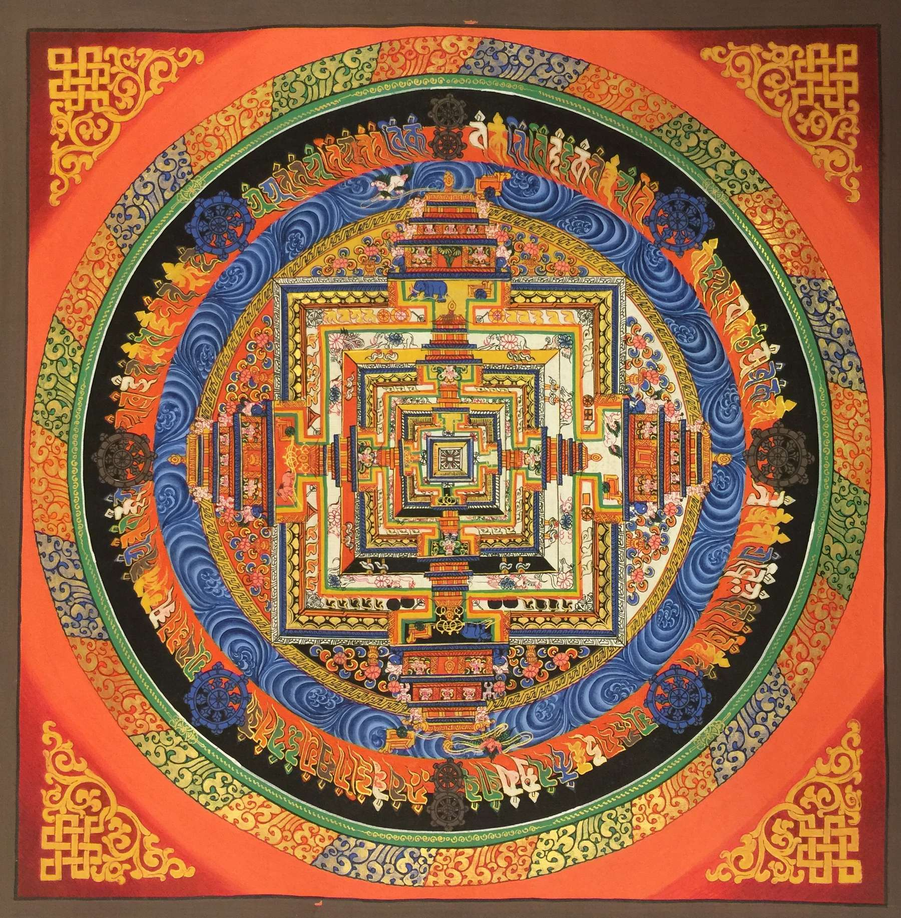 Ritual Art of Kalachakra Mandala