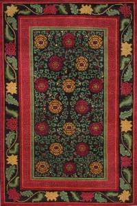 Chrysanthemum Traditional Tibetan Carpets