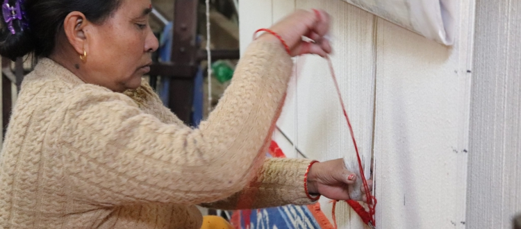 Tibetan Carpet Making Process